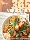 Better Homes and Gardens 365 Vegetarian Meals (eBook)