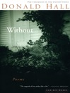 Without (eBook): Poems