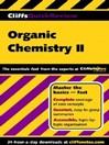 CliffsQuickReview Organic Chemistry II (eBook)