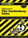 CliffsNotes on Chaucer's The Canterbury Tales (eBook)