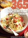 Better Homes and Gardens 365 30-Minute Meals (eBook)