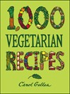1,000 Vegetarian Recipes (eBook)
