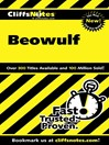 CliffsNotes Beowulf (eBook)