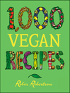 1,000 Vegan Recipes (eBook)