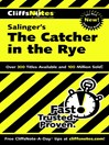 CliffsNotes on Salinger's The Catcher in the Rye (eBook)