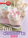 Betty Crocker Fun Desserts (eBook): Wiley Selects