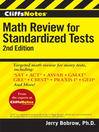 CliffsNotes Math Review for Standardized Tests (eBook)