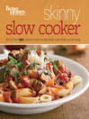 Better Homes and Gardens Skinny Slow Cooker (eBook)