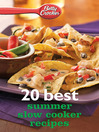 Betty Crocker 20 Best Summer Slow Cooker Recipes (eBook)