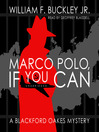 Marco Polo, If You Can (MP3)