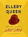 Drury Lane's Last Case (MP3): Drury Lane Series, Book 4