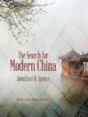 The Search for Modern China (MP3)