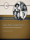 Classic Radio's Greatest Shows, Volume 1 (MP3)