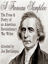 A Freneau Sampler (MP3): The Prose and Poetry of Revolutionary War Writer Philip Freneau