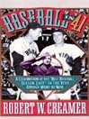 "Baseball In '41 (MP3): A Celebration of the ""Best Baseball Season Ever""—In the Year America Went to War"