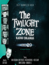 The Twilight Zone Radio Dramas, Volume 29 (MP3)