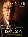 Kissinger (MP3): A Biography
