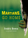Martians, Go Home (MP3)