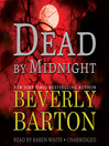 Dead by Midnight (MP3): Dead by Trilogy, Book 1