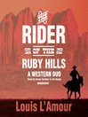 The Rider of the Ruby Hills (MP3): A Western Duo