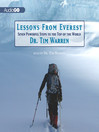 Lessons from Everest (MP3): 7 Powerful Steps to the Top of the World
