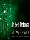 In Self Defense (MP3)