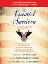 The Essential American (MP3): 25 Documents and Speeches Every American Should Know