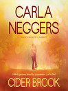Cider Brook (MP3): Swift River Valley Series, Book 3