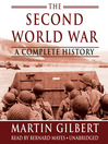 The Second World War (MP3): A Complete History