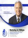 Marketing for Millions (MP3): Proven Marketing Strategies for Million Dollar Success