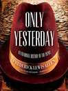 Only Yesterday (MP3): An Informal History of the 1920s