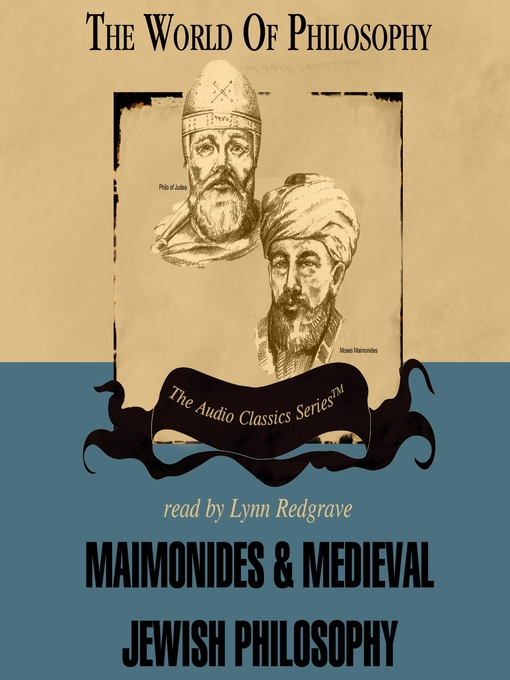 Maimonides and Medieval Jewish Philosophy (MP3)