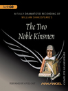 The Two Noble Kinsmen (MP3)