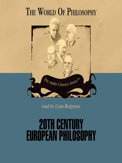 20th Century European Philosophy (MP3)