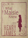 What Maisie Knew (MP3)