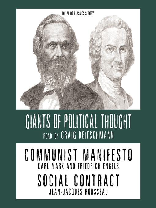 Communist Manifesto and Social Contract (MP3)