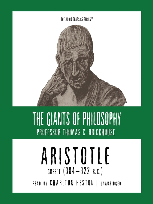 Aristotle (MP3): Greece (384-322 B. C.)
