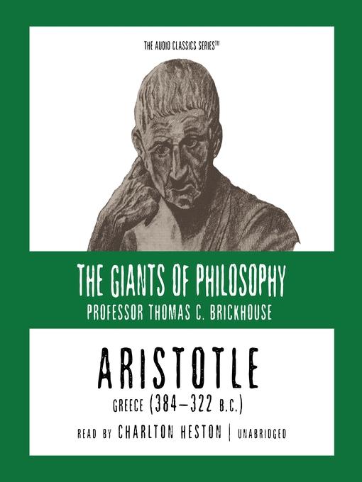 Aristotle (MP3): Greece (384-322 B. C.)