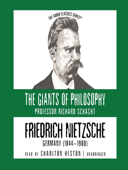 Friedrich Nietzsche (MP3): Germany (1844-1900)
