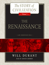 The Renaissance (MP3): A History of Civilization in Italy from 1304–1576 AD