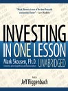 Investing in One Lesson (MP3)