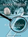 The Tragedy of Pudd'nhead Wilson (MP3)