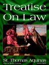 Treatise on Law (MP3)
