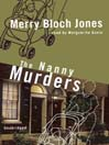 The Nanny Murders (MP3): Zoe Hayes Mystery Series, Book 1