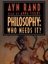Philosophy (MP3): Who Needs It