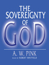 The Sovereignty of God (MP3)