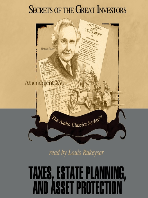 Taxes, Estate Planning, and Asset Protection (MP3)