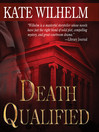 Death Qualified (MP3): Barbara Holloway Series, Book 1