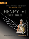 Henry VI, Part 3 (MP3)