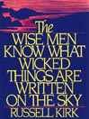 The Wise Men Know What Wicked Things Are Written on the Sky (MP3)